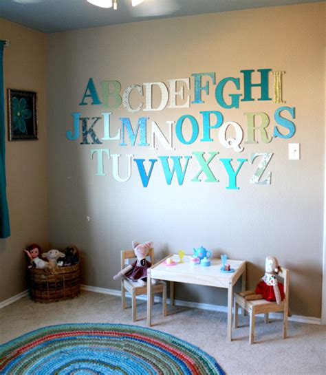 alphabet themed rooms  kids design dazzle
