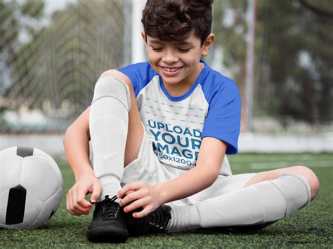 placeit custom soccer jerseys happy boy buckling  shoes