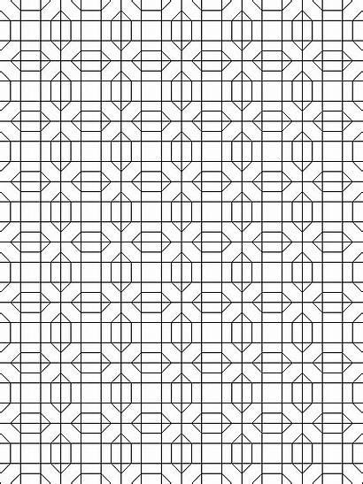 Coloring Pages Quilt Geometric Mandala Block Patterns