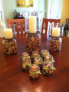 Wine tasting party decorations... Wine corks galore! Added ...
