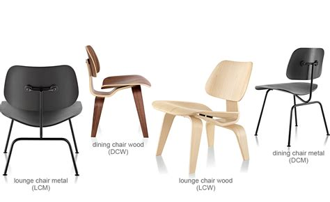 Eames® Molded Plywood Dining Chair Dcm   hivemodern.com