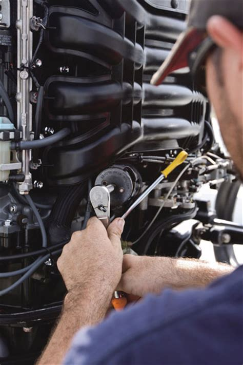 Yamaha Boat Engine Maintenance by Annual Outboard Engine Service Do It Or Don T Boat