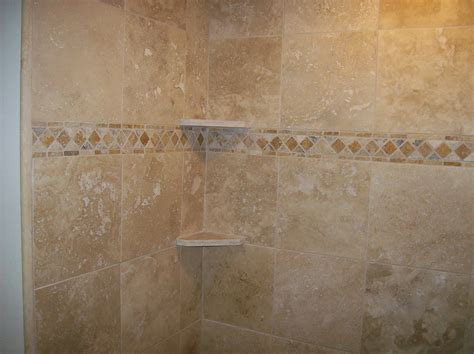 pictures   travertine tile good  bathroom