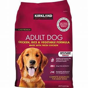 kirkland signature chicken rice dog food 40 lbs With where to buy kirkland dog food