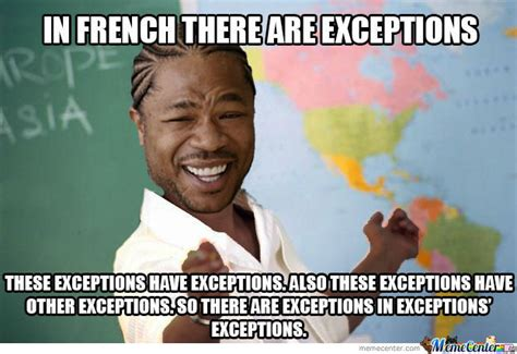 Meme Francais - how to get better grades in college florida tech ecurrent