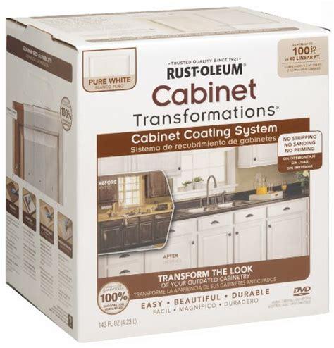 rustoleum cabinet transformations light kit rust oleum 263232 cabinet transformations small kit pure
