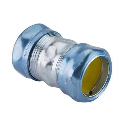 steel emt rain tight compression coupling