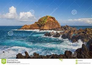 Atlantic Lava Stone : scenic seascape from madeira stock photos image 32402813 ~ Markanthonyermac.com Haus und Dekorationen