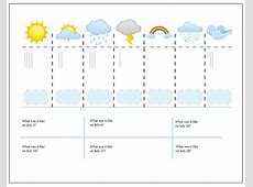 Weather Journal, perfect for kids! >> One Beautiful Home Blog