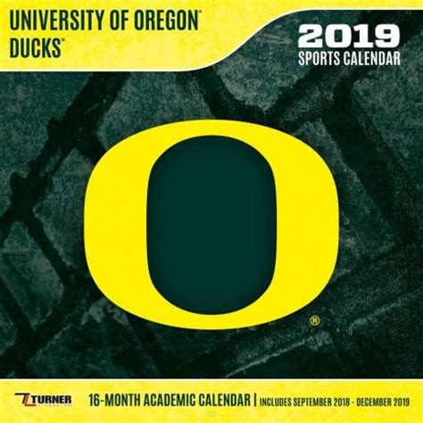 oregon ducks calendars