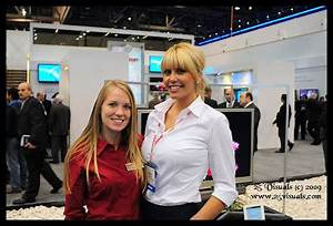 Wheels And Heels Magazine / W&HM: 2009 CES Booth Babes and ...