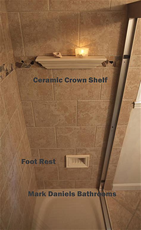 shower shelf shampoo niche recessed showering shelves niches