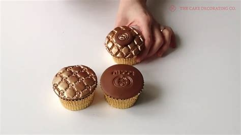 designer cupcakes  gucci designer