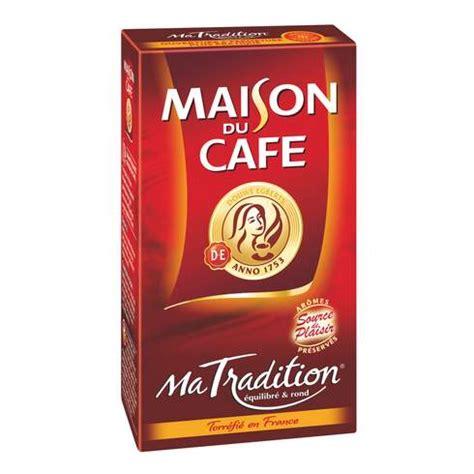 de cagne maison caf 233 maison du caf 233 quot ma tradition quot moulu paquet de 250 g maxiburo