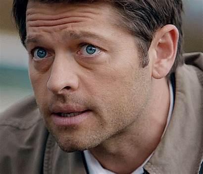 Misha Sbalordito Sono Dean Castiel Collins Eyes