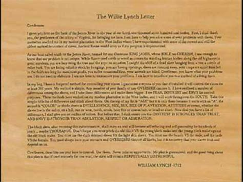 willie lynch letter pdf willie lynch letter the of a is this you