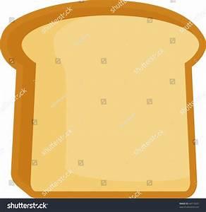 Bread Toast Slice Stock Vector Illustration 64713637 ...
