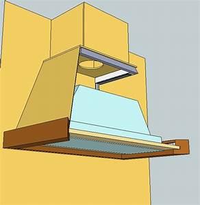 poser une hotte forum equipement de la maison systeme d With construire une hotte de cuisine