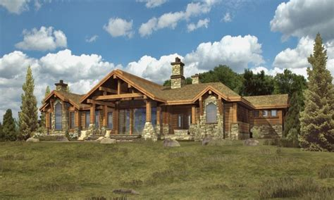 log cabin ranch style home plans log cabin interiors log
