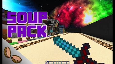 top hd minecraft soup potion pvp resource pack  youtube