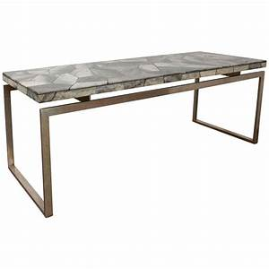 furniture long narrow coffee table with marble table top With long and narrow coffee table