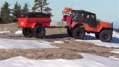 military trailer cer modified m 416 military trailer with cvt rtt youtube