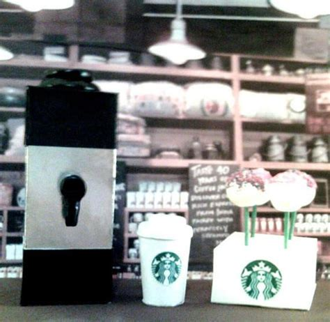 Regarding the pastries, items include butter croissant, classic coffee cake, toffee almond bar, and chocolate glazed donut. American Girl Sized Starbucks Coffee Maker & Cake Pop Set | Starbucks coffee maker, Starbucks ...