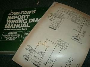 1991 Honda Accord Wiring Diagrams Schematics Manual Sheets