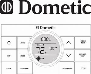 Dometic 3312024 Series Thermostat Operating Instructions