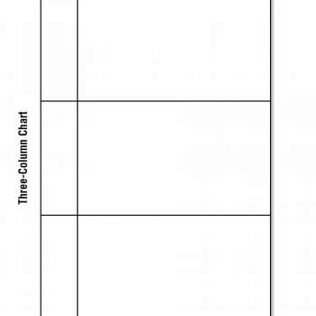 printable  chart templates examples template archive