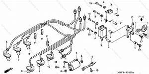 Honda Motorcycle 1999 Oem Parts Diagram For Ignition Coil