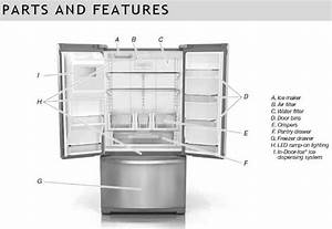 Whirlpool French Door Refrigerator Troubleshooting  U0026 User Guide With Regard To Whirlpool Gold