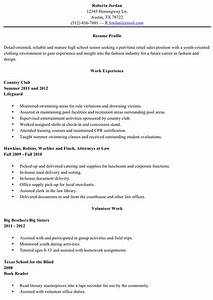 Download Resume Sample High School Graduate for Free