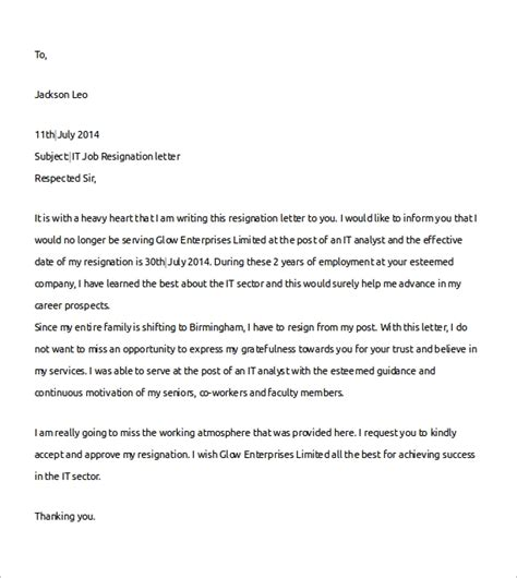 sample resignation letter due job sludgeportwebfccom