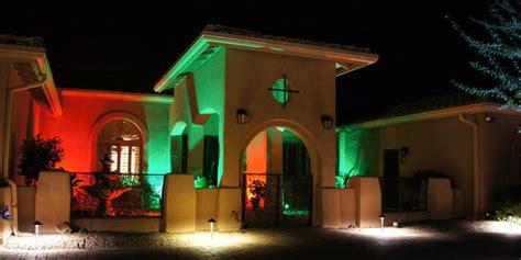 led exterior wall wash lighting mediterranean exterior