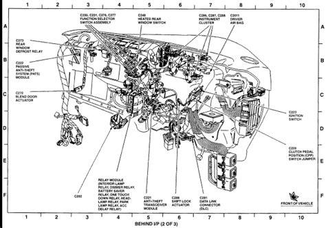 Mercury Sable Mirror Diagram Auto Fuse Box