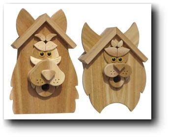 Woodworking Patterns Plans Birdhouses With