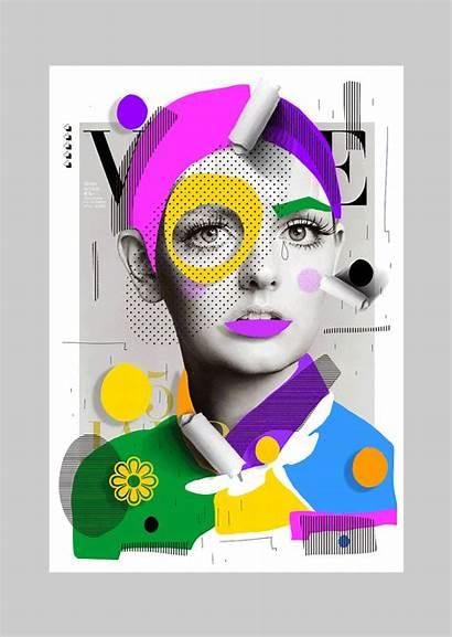 Collage Cheek Hosgor Magazines Graphic Selman Magazine