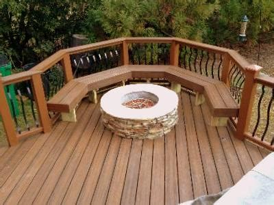 st louis deck contractors wood composite  vinyl st