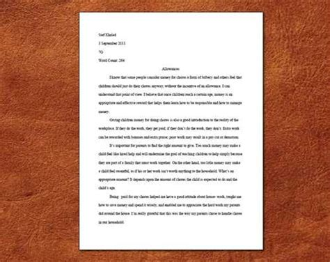 here you may find an exle of proper mla essay formatting