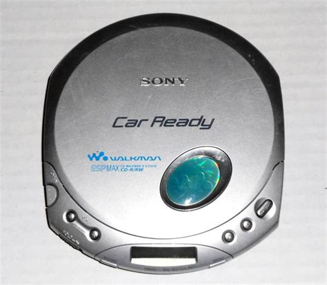 porta cd auto sony d e356ck car ready discman portable cd walkman player