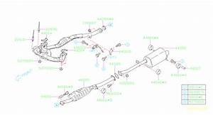 Subaru Forester Sensor Assembly-air  Fuel Ratio  Exhaust  Pipe  Muffler