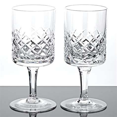 Wasserglaser Kristall by 2 Weingl 228 Ser Rotweingl 228 Ser Waffel Schliff Kristall Gl 228 Ser