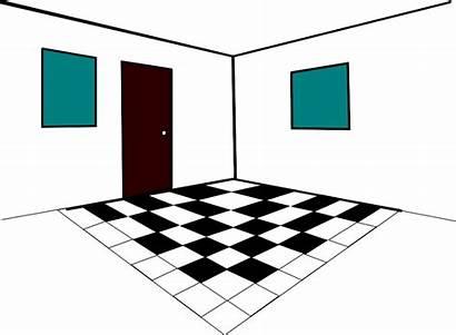 Clipart Floor Bedroom Door Clip Chambre Clipartpanda