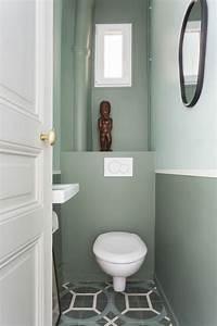 les 25 meilleures idees de la categorie peinture carrelage With couleur de peinture pour toilette 8 deco toilettes avant apras de pro pour refaire ses wc
