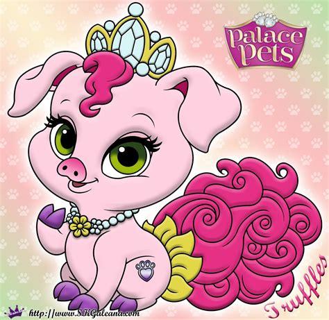 Princess Palace Pets Coloring Page Of Truffles Skgaleana