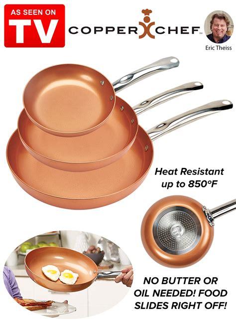 copper chef  pan set carolwrightgiftscom