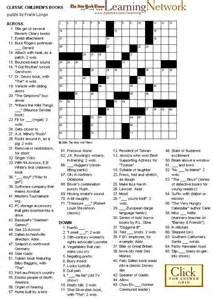 Kids Crossword Puzzle Books