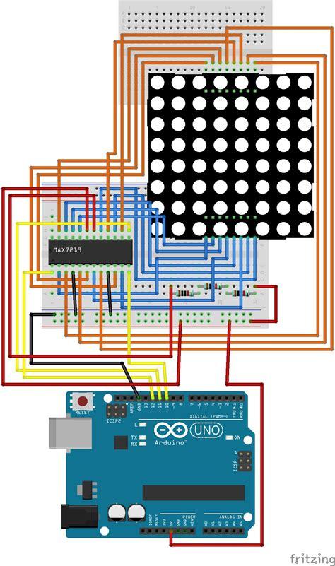 Arduino Led Matrix Max Uno
