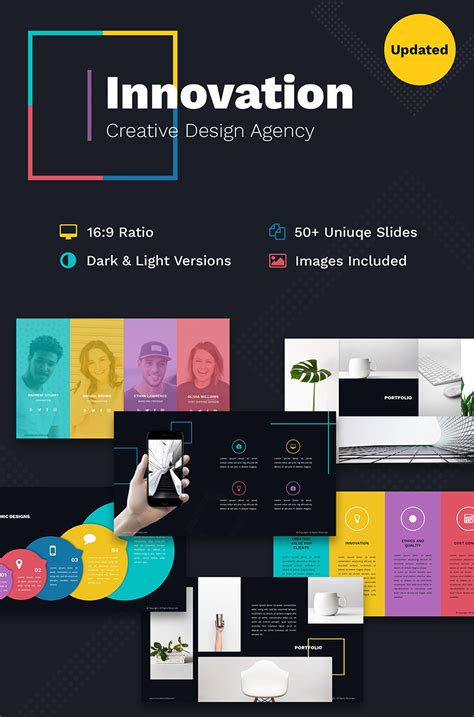 innovation creative   design agency powerpoint